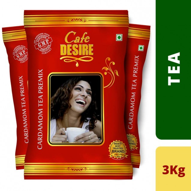 Cardamom Tea Premix (Combo) - 3 Kgs (New Launch - Red Range)