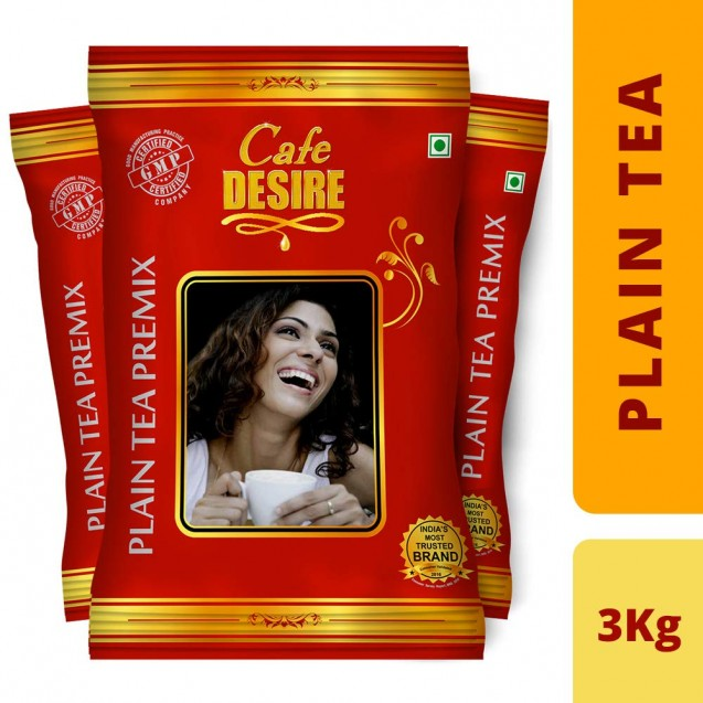 Plain Tea Premix (Combo) - 3 Kgs (New Launch - Red Range)